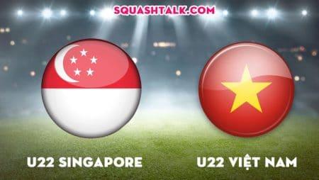 Soi kèo nhà cái W88 trận U22 Singapore vs U22 Việt Nam, 19h00 – 03/12