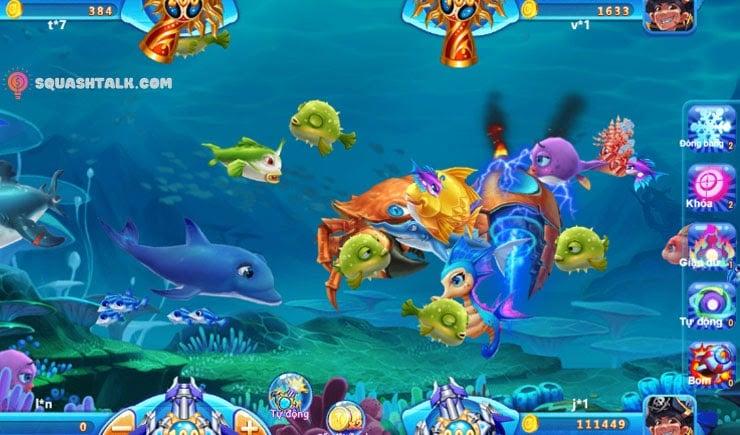 Bắn cá đổi thưởng - Chơi game bắn cá ăn tiền hot nhất