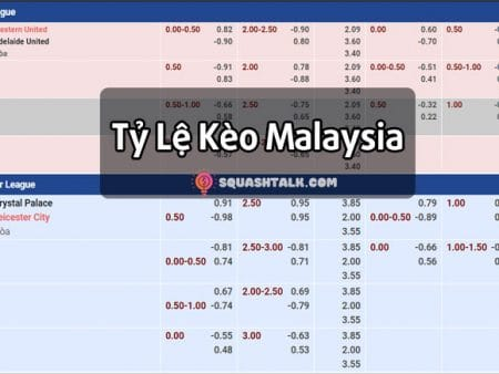 Tỷ lệ kèo Malaysia là gì? Cách tính tỷ lệ cược Malay