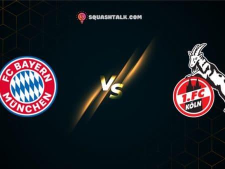 Soi kèo HappyLuke trận đấu Bayern Munich vs Koln, 21h30 – 27/02