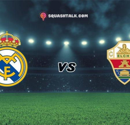 Soi kèo nhà cái V9BET trận Real Madrid vs Elche, 22h15 – 13/03