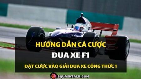 Mẹo và cách chơi cá cược đua xe F1 tại nhà cái trực tuyến